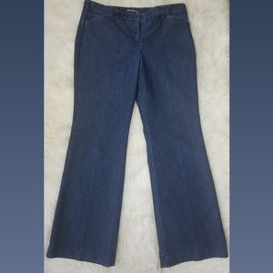 Express Blue Editor Bootcut Jeans Size 10